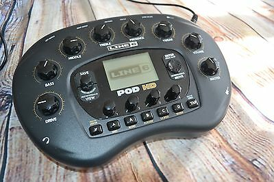 Pre owned Line6 Pod HD Bean Multi effects guitar bass vocal unit / interface