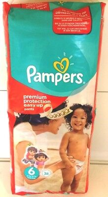 Couches Culotte Easy-Up Pampers Taille 6 X 38