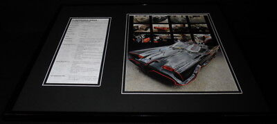 The Batmobile Framed 16x20 Photo Display Batman