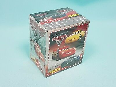 Panini Disney Cars 3 Sticker 1 x Display / 50 Tüten Neu
