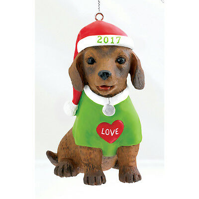 Carlton Heirloom Series Ornament 2017 Puppy Love #17 - #CXOR025M