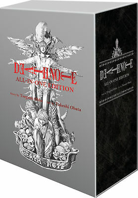 Death Note: Complete Anime Manga Series Volume 1-12 All-in-One Edition Boxed Set