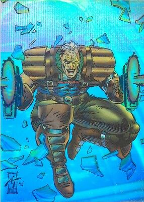 X-Men Series 2 Ii Skybox 1993 Holithogram Card H-1 Cable
