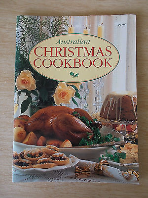 Australian Christmas Cookbook~Sweet & Savoury Recipes~80pp P/B