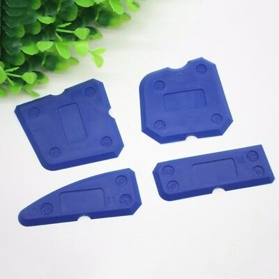 4pcs Caulking Tool Kit Joint Sealant Silicone Grout Remover Scraper for Corner