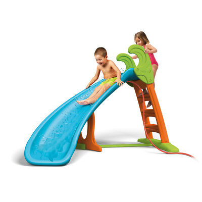 Feber Slide Curve Plus with Water - Backyard Slippery Dip for Children