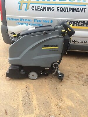 Karcher B40 W Bp with Dose R55 disc brush head floor scrubber drier 357hrs usage