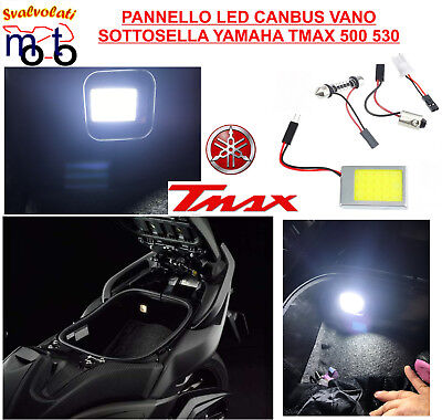 Yamaha Tmax T Max 530 Anno 2017 Led 6000K  Vano Sottosella Light  Under The Seat