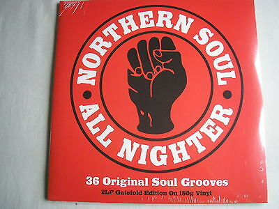 VARIOUS Northern Soul All Nighter UK double LP 2014 180g new mint sealed