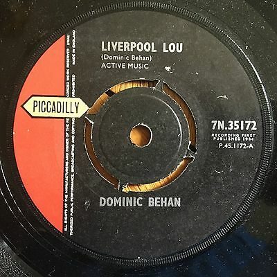 """Dominic Behan - Liverpool Lou UK 1964 7"""" Piccadilly Recs"""