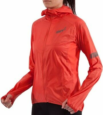 Inov8 AT/C Windshell Full Zip Ladies Running Jacket - Orange