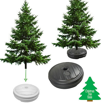Christmas Tree Stand xmas Decoration Base Indoor Outdoor Sand Water Plastic Pole