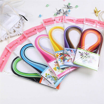 DIY Paper Quilling Kit with Slotted Tool ( 120 Strips/36 Colors/0.3cmx39c)
