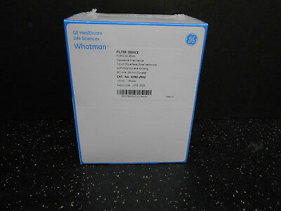 GE HEALTHCARE 6780-2502 WHATMAN DISPOSABLE FILTER DEVICE 0.2µm 50/BX
