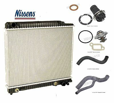 For Saab 9-5 2.3l Radiator Upper Lower /& Water Pump Hoses Thermostat-Coolant Kit