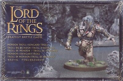 LORD OF THE RINGS - Mordor Troll Isengard LOTR 05-07 Citadel GAMES WORKSHOP