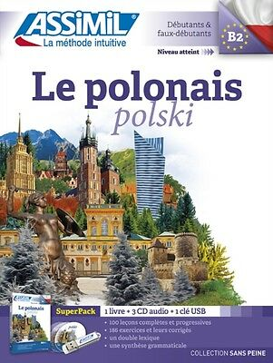 Le Polonais Superpack 1 Book 3 Audio Cd, 9782700580891