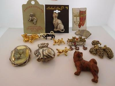 12 Cats And Dogs Brooches Tie Tacs And More So Cute