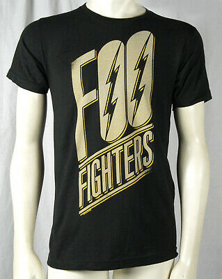 Authentic FOO FIGHTERS Band Slanted Logo T-Shirt S M L XL XXL Dave Grohl NEW