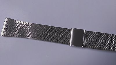 watch bands BRACELET DE MONTRE / ACIER METAL INOXYDABLE ARGENTE  20mm VQ14