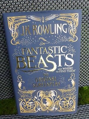 Fantastic Beasts and Where To Find Them - J.K. Rowling - Hardback - New