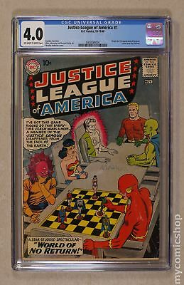 Justice League of America (1960 1st Series) #1 CGC 4.0 0303039004