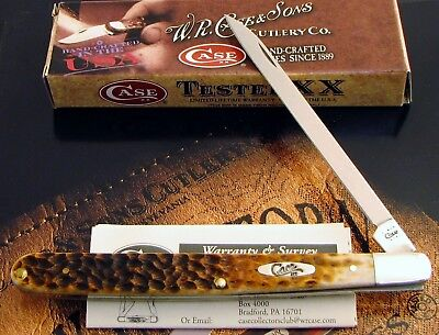 Case 1st Run XX Melon Tester Knife 2011 Issue Pre Production Model 1 Of 250! NR