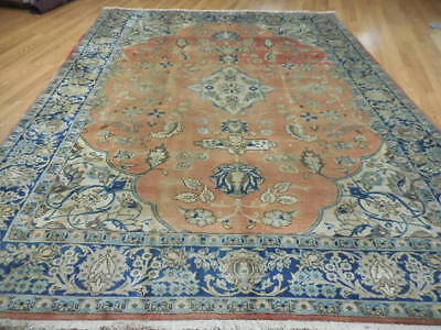 Ca1880s VG DY ANTIQUE PERSIAN SULTANABAD SAROUK MAHAL 8x10 ESTATE SALE RUG