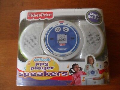 Fisher Price Fp3 Player Speaker Kid Tough  Boombox 2006