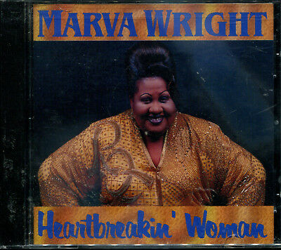 1 CENT CD Heartbreakin Woman - Marva Wright SEALED/BLUES/NEW ORLEANS