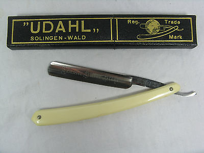 Vintage New Old Stock straight razor Rasiermesser Julius UELLENDAHL Solingen