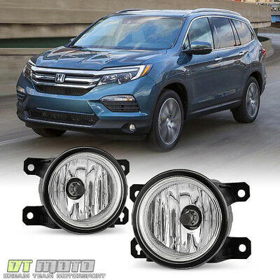 For 2016 2017 Honda Pilot Gl Lens Per Fog Lights Lamps W Switch Left