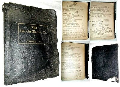 1st EDITION Rare LINCOLN ELECTRIC Co. CLEVELAND, OHIO ~ LESSONS in ARC WELDING
