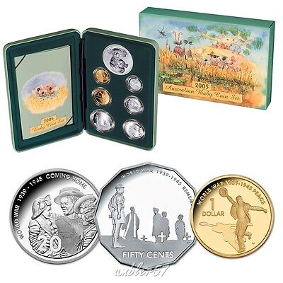 "**2005 Scarce Australian ""Coming Home"" Baby Proof set**"