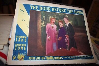 The hour before dawn Veronica Lake movie poster #11