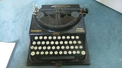 Vintage Home Portable Remington Typewriter