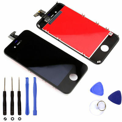 LCD For iPhone 4 Black Digitizer Touch Screen Replacement Assembly