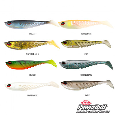 Berkley Papa Giant Ripple Shad, Rigged/unrigged, Various Colours/sizes