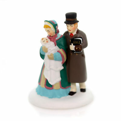 Department 56 Accessory FIRST CHRISTMAS EVE SERVICE Dickens' Village 4054966