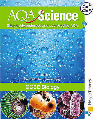 GCSE Biology (AQA Science), Ann Fullick, Very Good Book