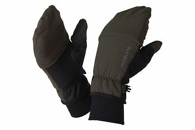 SealSkinz Outdoor Sports Mittens / Olive