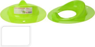 Kids Toddler White Baby Child Plastic Potty Toilet Trainer Training Seat