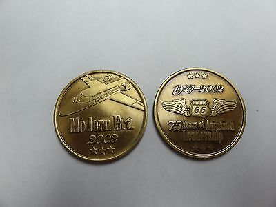 CHALLENGE COINS PHILLIPS 66 75 Years of Aviation Set of 3