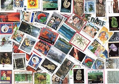 A NEW SELECTION OF COMMEMORATIVE KILOWARE STAMPS FROM NEW ZEALAND MOSTLY HVs