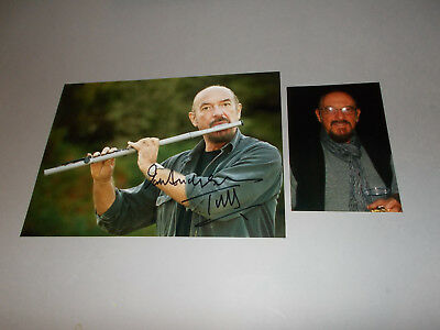 Ian Anderson Jethro Tull signed signiert  Autogramm 20x28 Foto in person