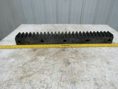 "Flat Pinion Gear Rack 26T 0.3825 MOD 3-1/8"" Face 23-1/2"" 1/2"" Pitch Approx."