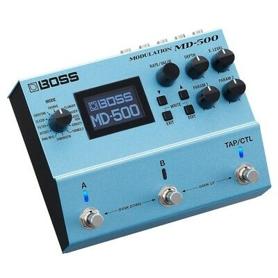 Boss MD-500 Modulation Electric Guitar Effects Processor Pedal MD500