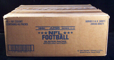 1991 Score Football Blister Packs Series 1 and 2