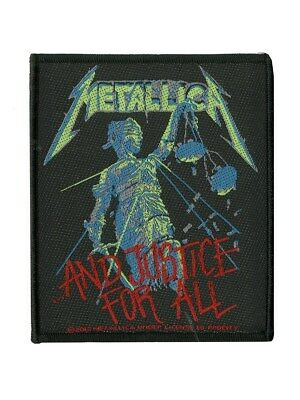 Metallica And Justice For All Patch - NEW & OFFICIAL