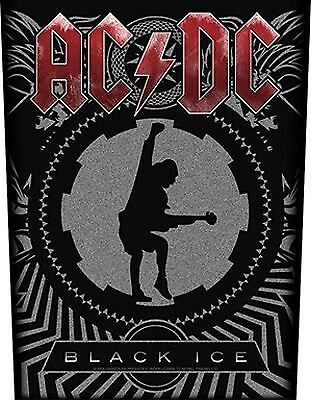 AC/DC Black Ice Backpatch - NEW & OFFICIAL